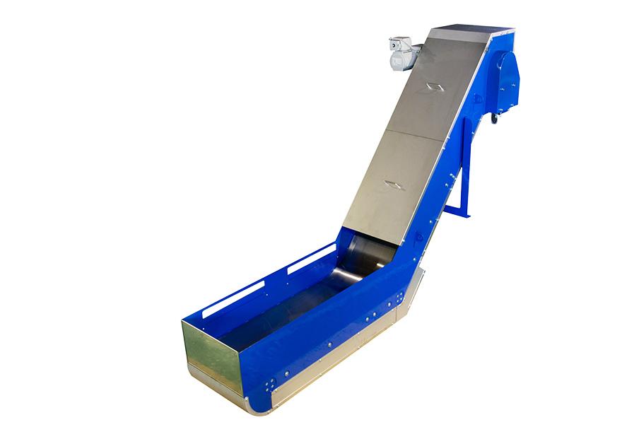 高磁力型マグネット式チップコンベア1